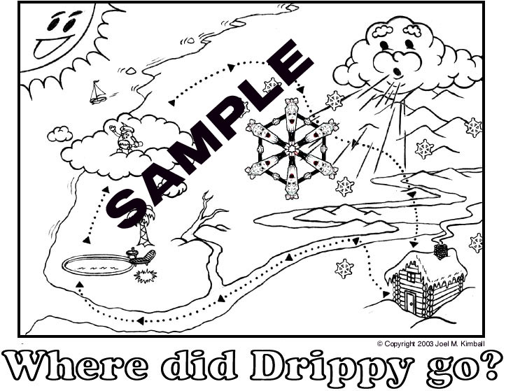Drippy the Raindrops FREE Water Cycle fun trial site